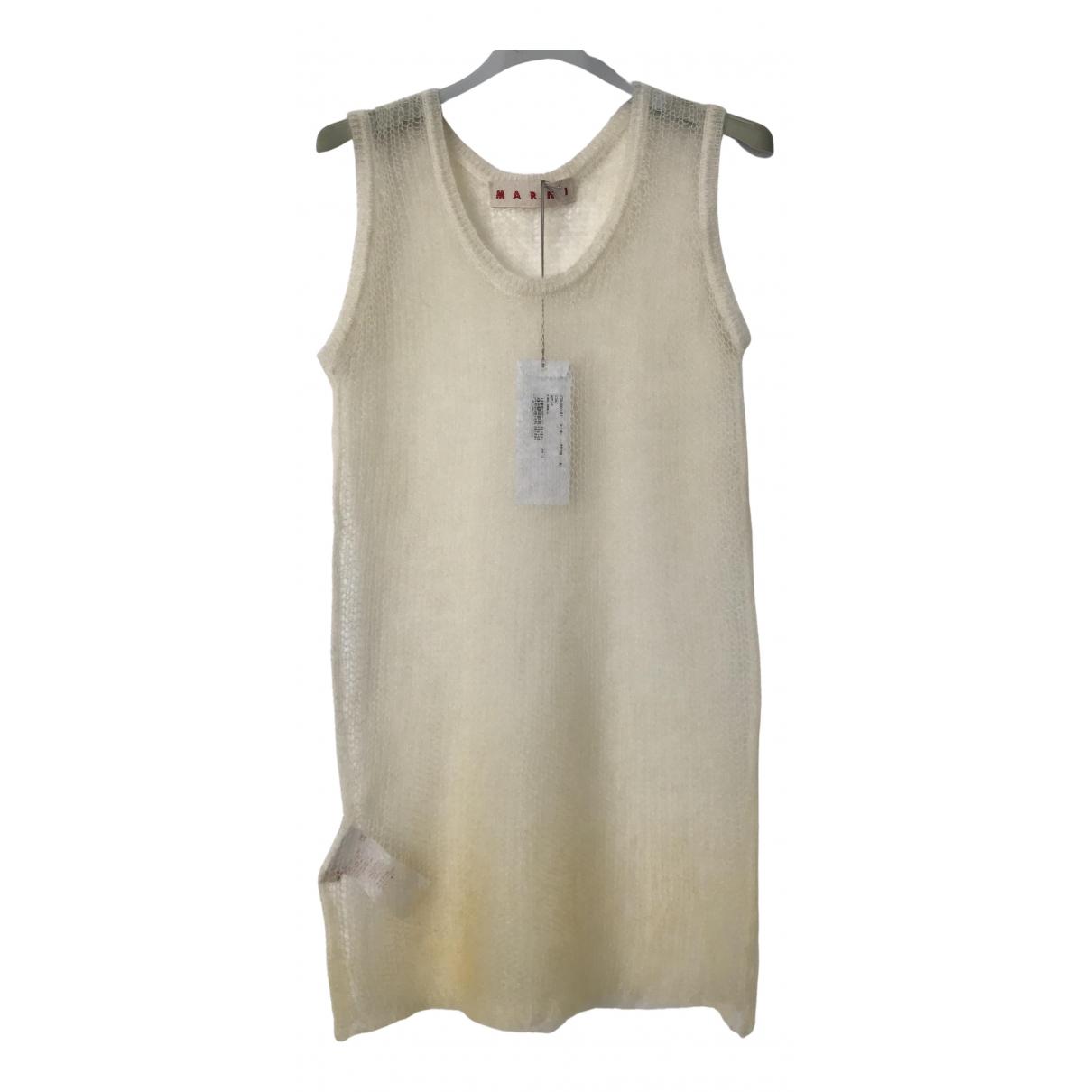 Marni - Top   pour femme en laine - ecru