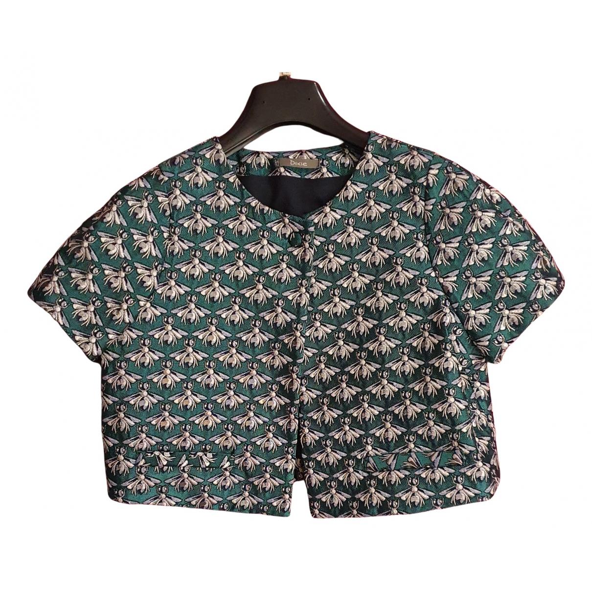 Dixie \N Jacke in  Gruen Polyester