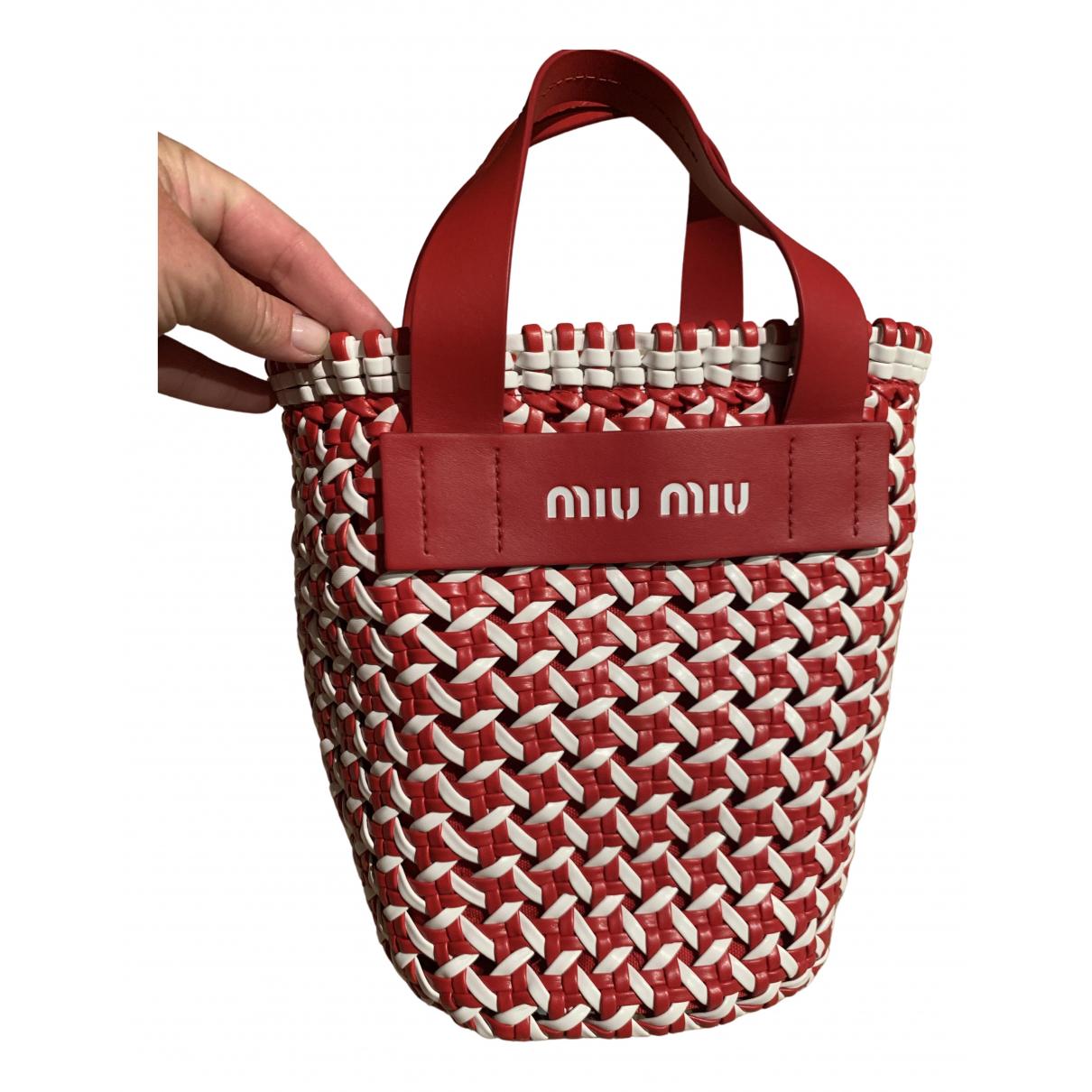 Miu Miu N Red Leather handbag for Women N