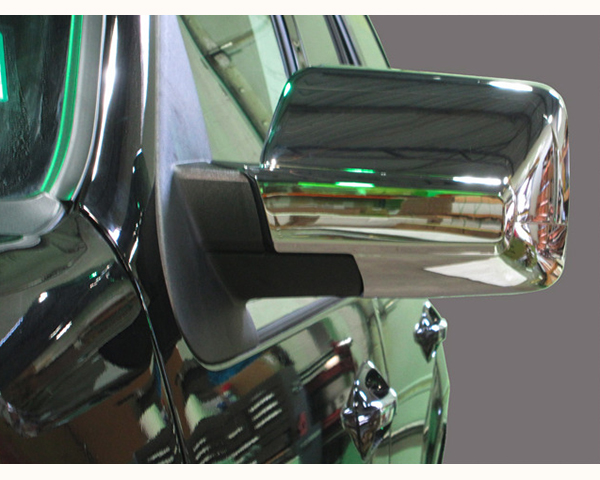 Quality Automotive Accessories Chrome Plated ABS Plastic 2-Piece Mirror Cover Set Ford Expedition 2007