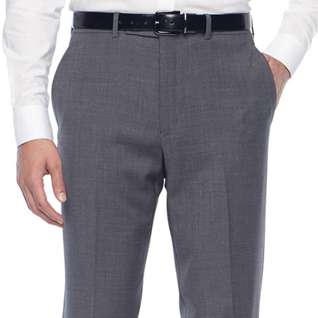 Collection by Michael Strahan Mens Classic Fit Suit Pants, 35 32, Gray