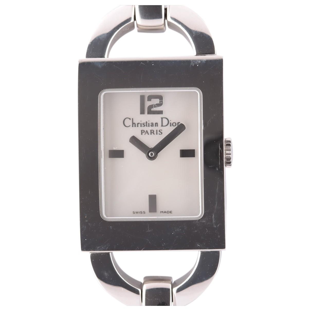 Dior \N Silver Steel watch for Women \N