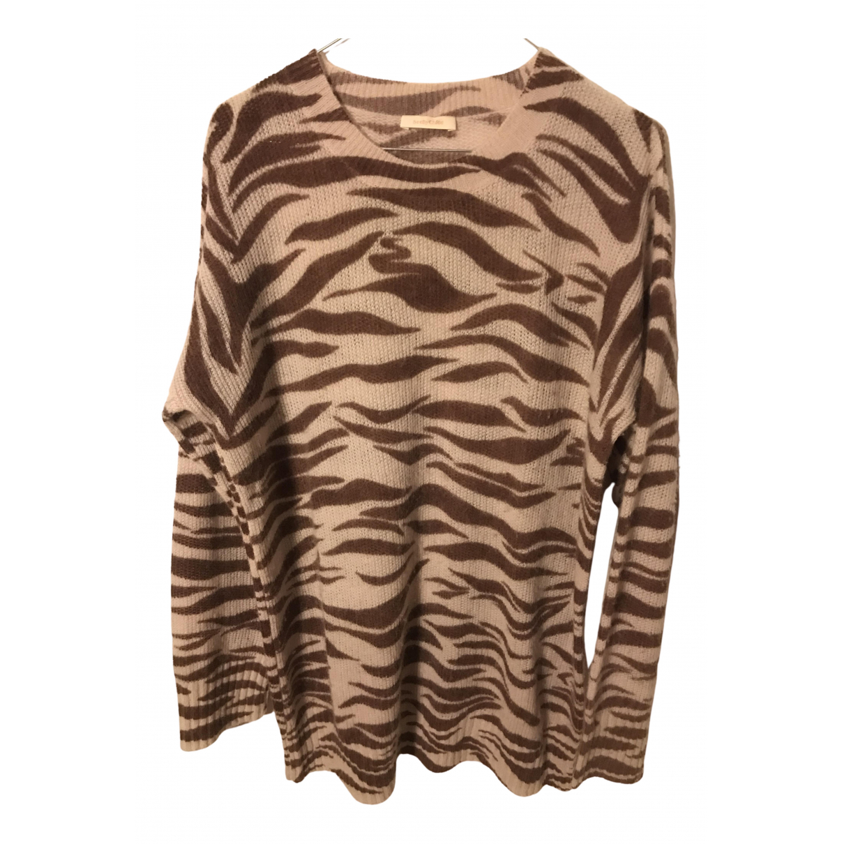 See By Chloé N Brown Cashmere Knitwear for Women 38 FR
