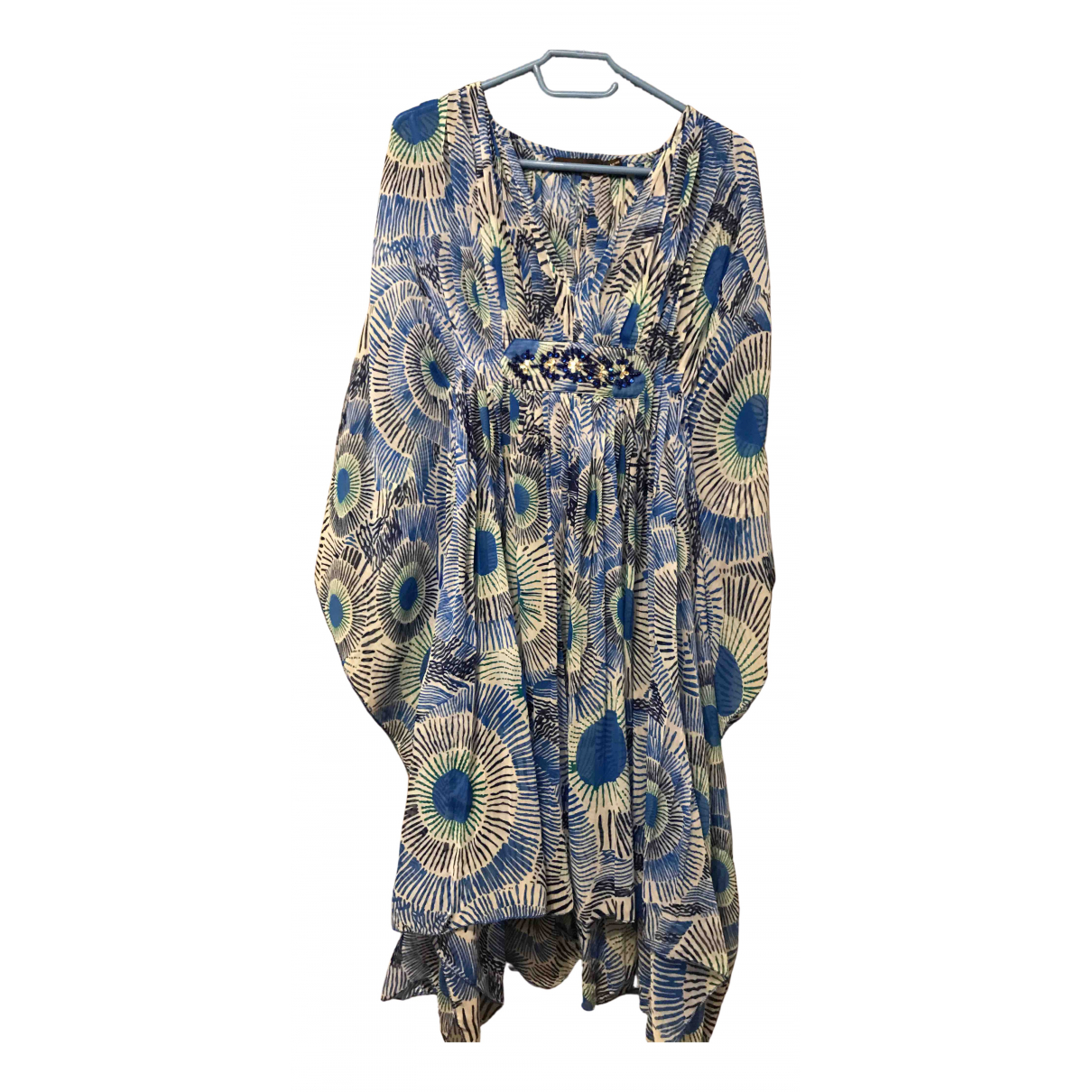 Antik Batik \N Blue dress for Women M International