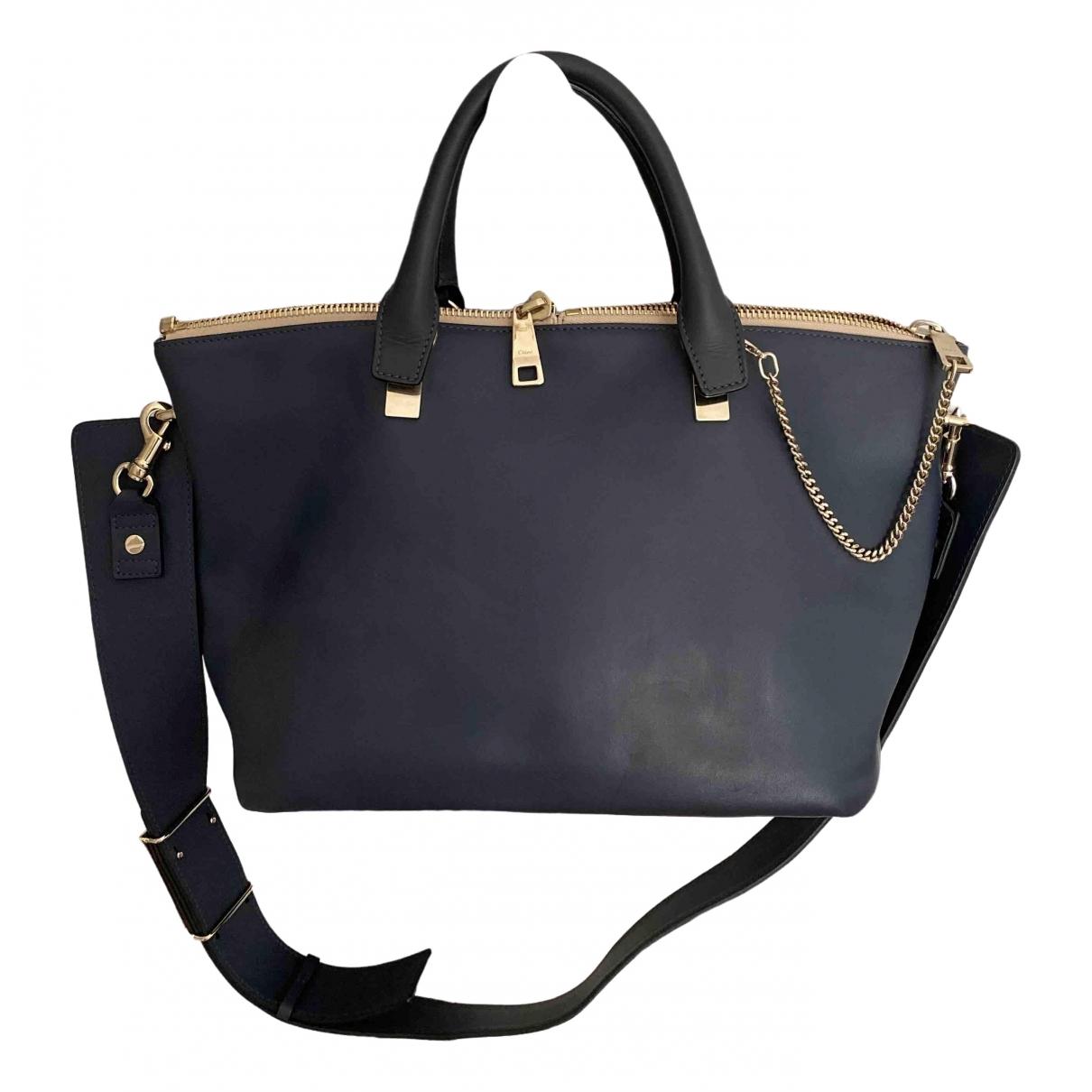 Chloé Marcie Blue Leather handbag for Women \N