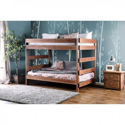 Arlette Collection AM-BK200-BED-SLAT F/F Bunk Bed with 2 Slat