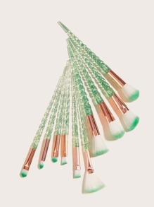 10pcs Threaded Rod Makeup Brush