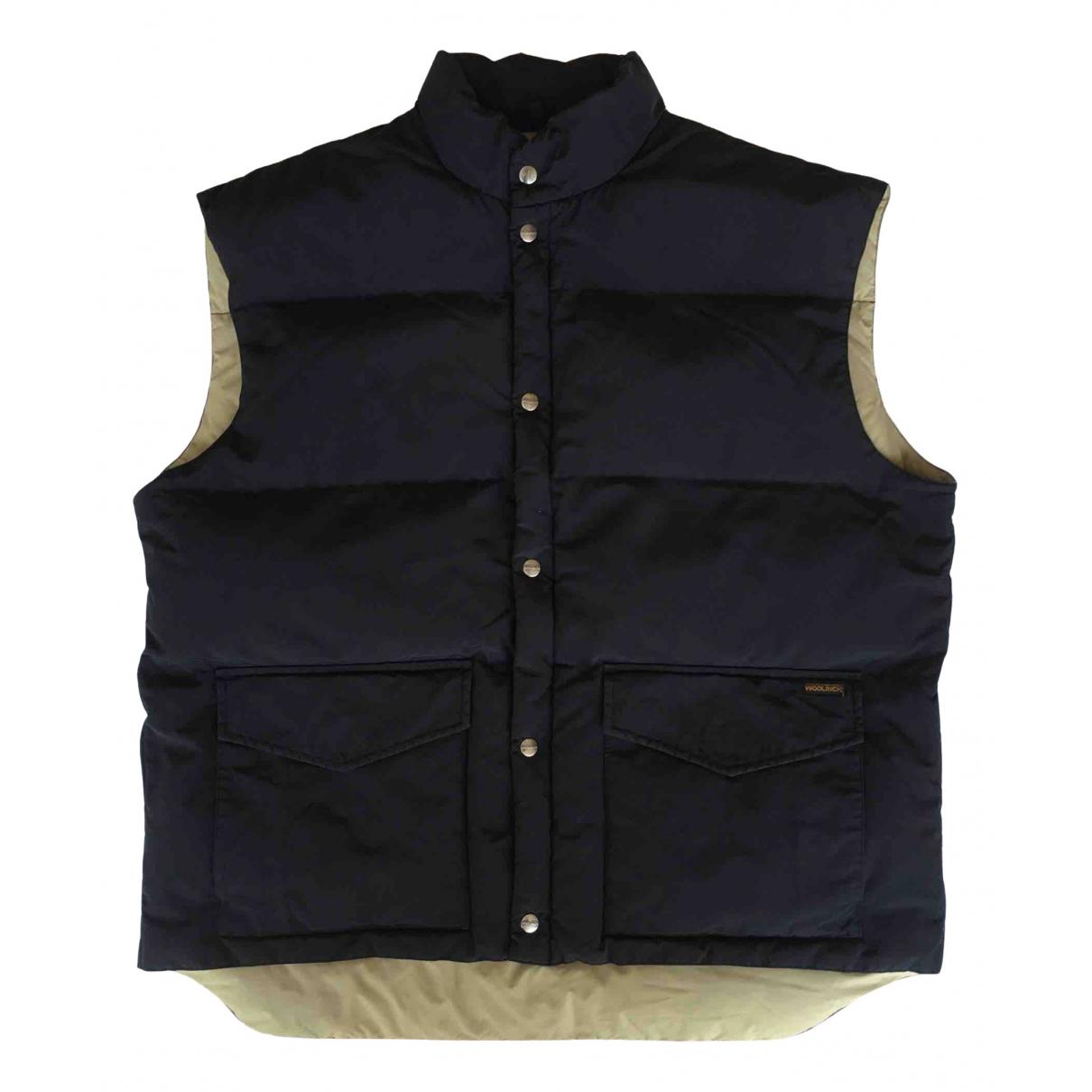 Woolrich \N Black Cotton jacket  for Men XXL International