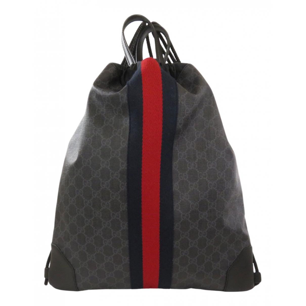 Gucci N Anthracite Cloth bag for Men N