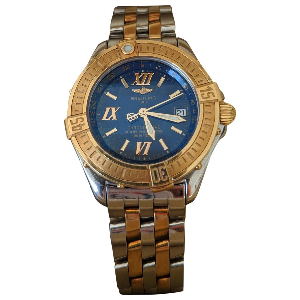 Breitling Colt  Uhr in  Gold Gold und Stahl