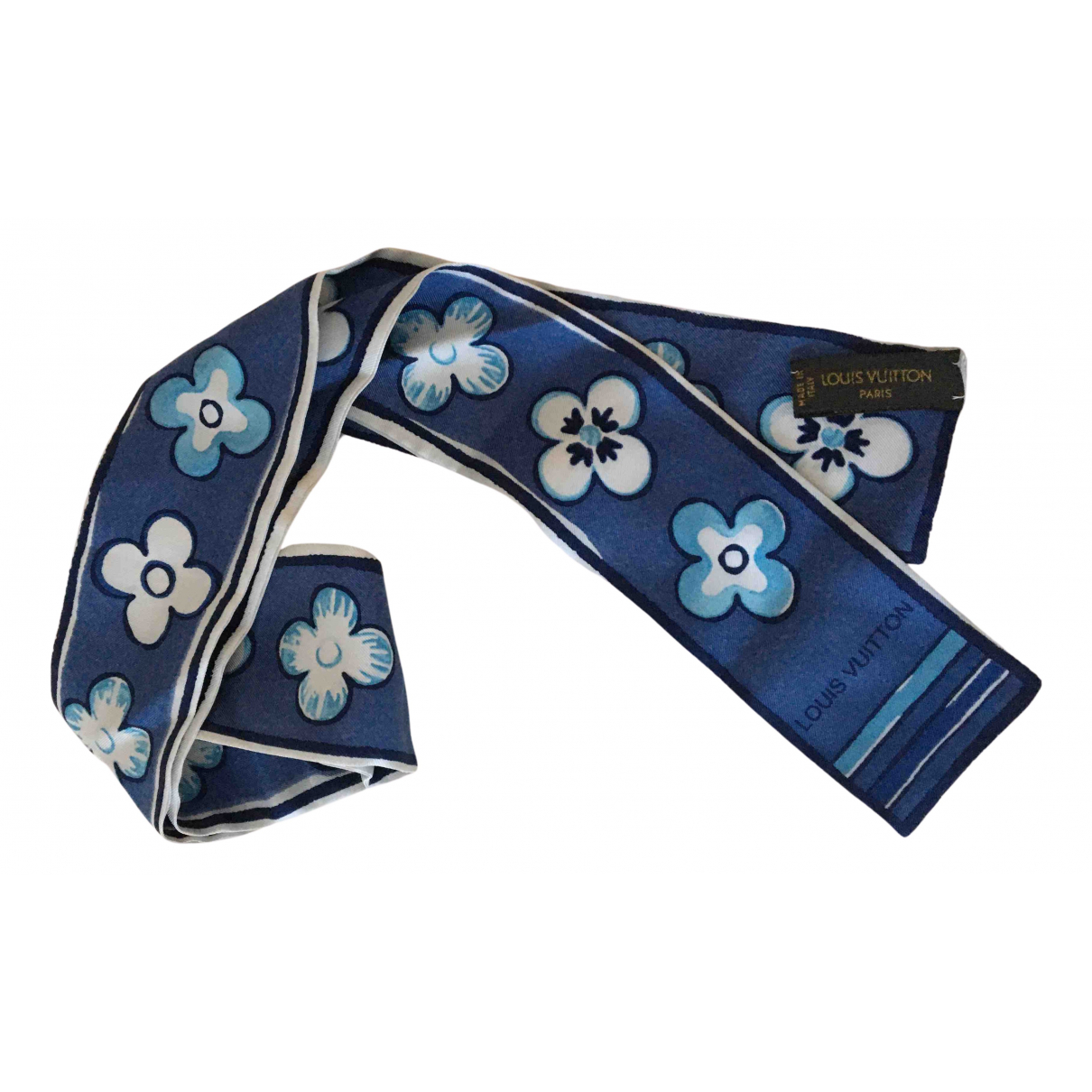 Louis Vuitton N Blue Silk scarf for Women N