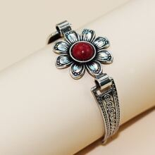 1pc Floral Decor Bracelet