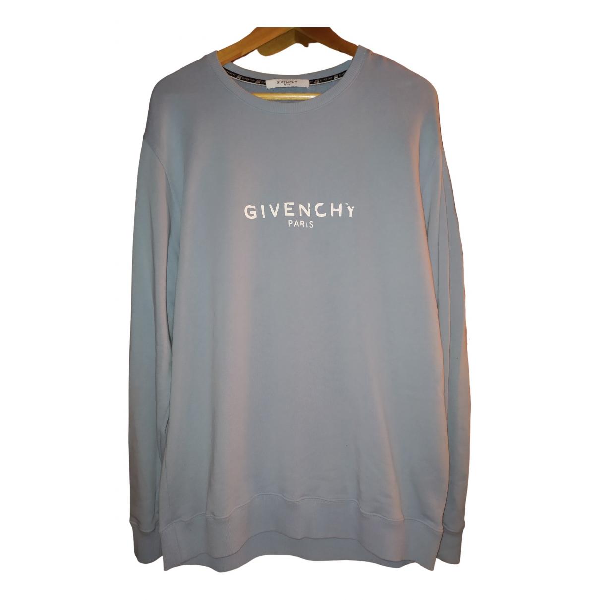 Givenchy - Pulls.Gilets.Sweats   pour homme en coton - bleu