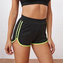 Shorts deportivos Raya lateral