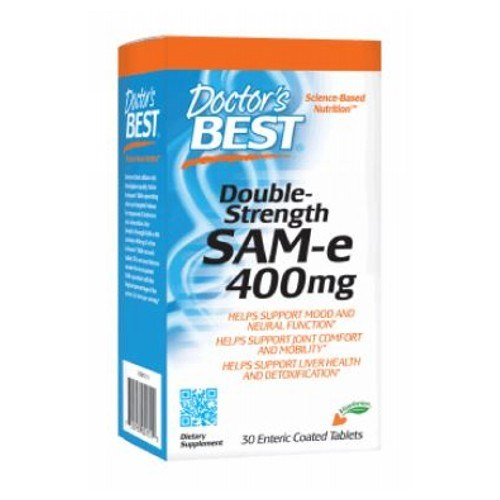 Double Strength SAM-e 30 Tabs  by Doctors Best