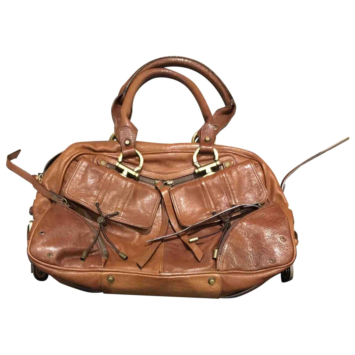Barbara Bui \N Handtasche in  Braun Leder