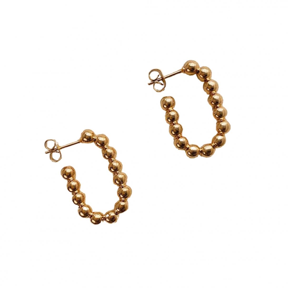 Monica Vinader N Gold Metal Earrings for Women N