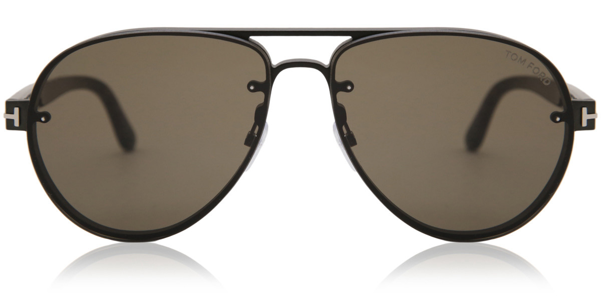 Tom Ford FT0622 12J Men's Sunglasses Black Size 62