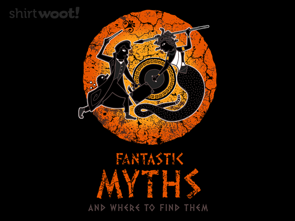 Fantastic Myths And Where To Find Them T Shirt