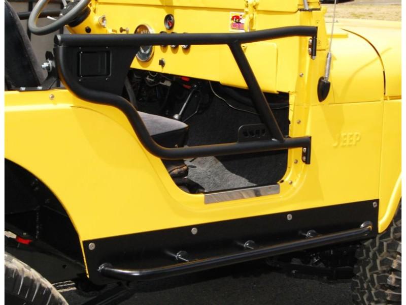 Warrior Products 91395 Rock Slider w/Step Bar Jeep CJ7 76-86