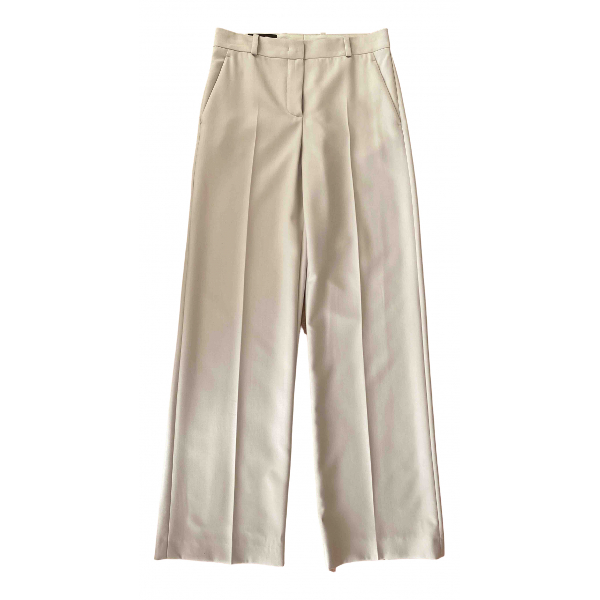 Loro Piana N Wool Trousers for Women 36 IT