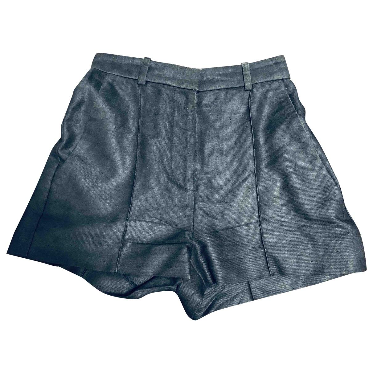 Versace \N Shorts in  Blau Baumwolle