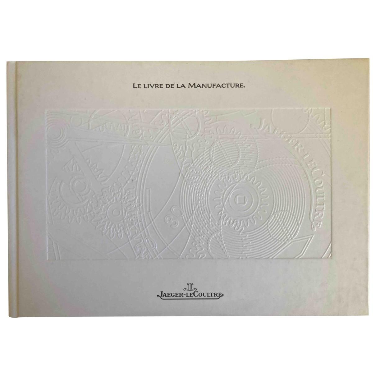 Jaeger-lecoultre - Photographie   pour lifestyle en coton - blanc