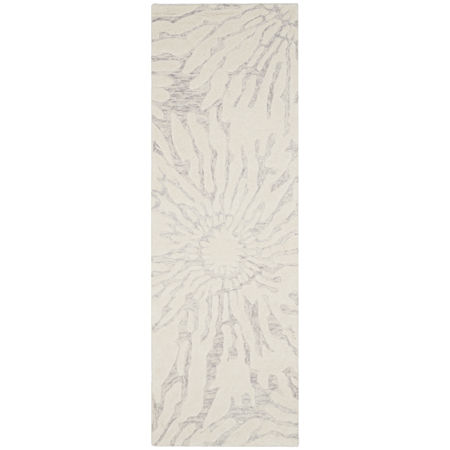 Safavieh Edweena Hand Tufted Area Rug, One Size , Silver