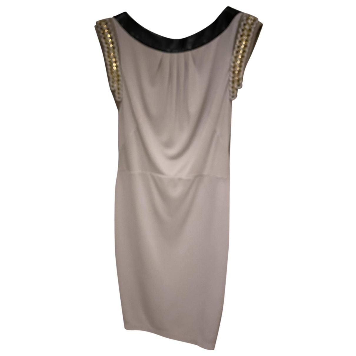 Bastyan N Grey Leather dress for Women 12 UK