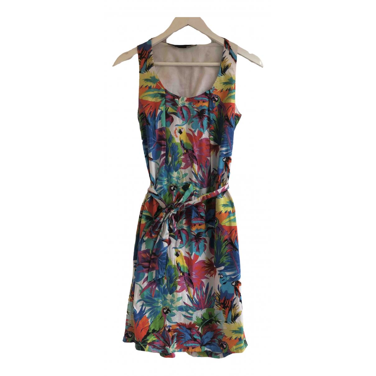 Moschino Love \N Kleid in  Bunt Baumwolle