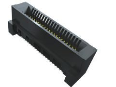 Samtec , HSEC8-DV Vertical Female PCBEdge Connector, SMT Mount, 100 Way, 2 Row, 0.8mm Pitch, 2.8A (275)