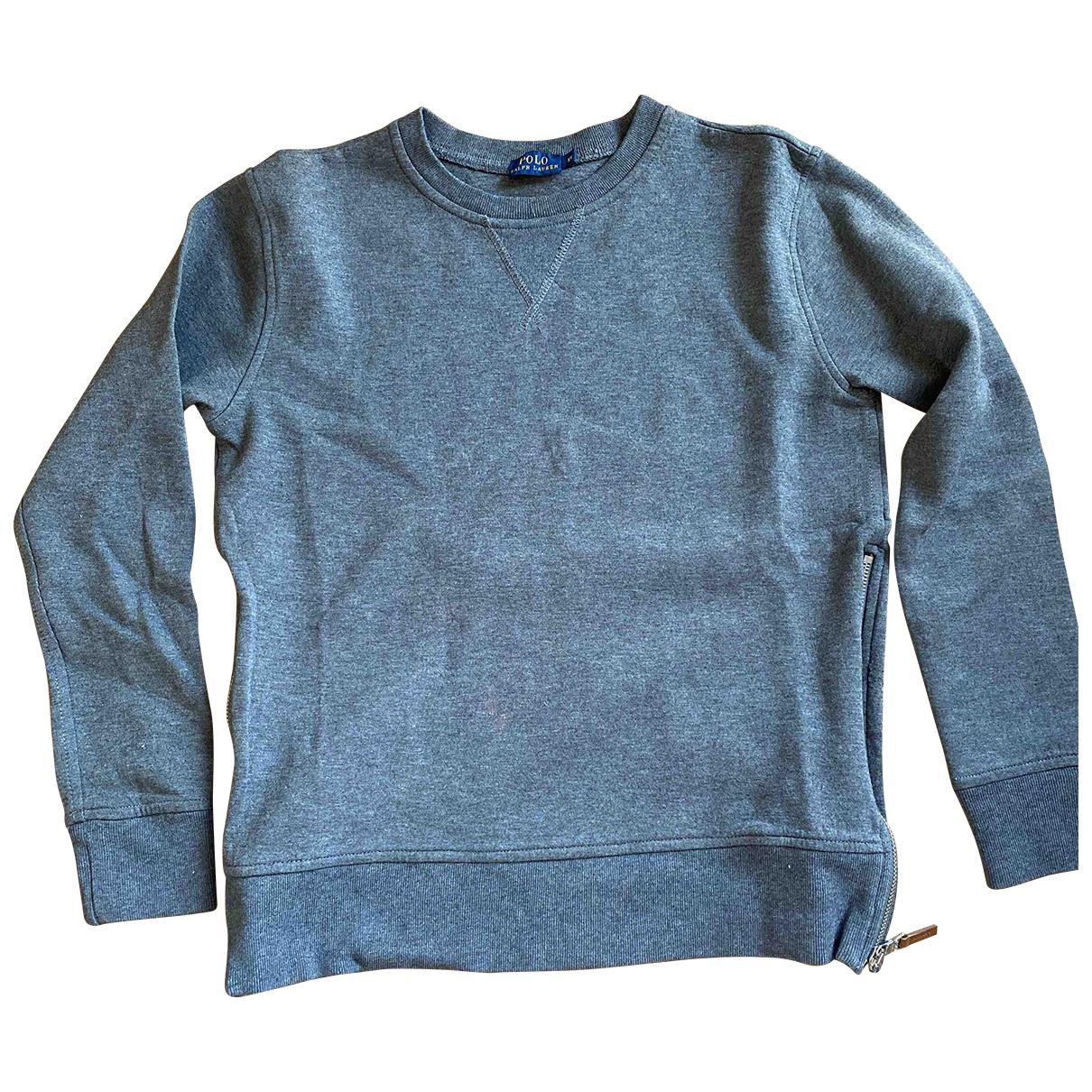 Ralph Lauren - Top   pour femme en coton - gris
