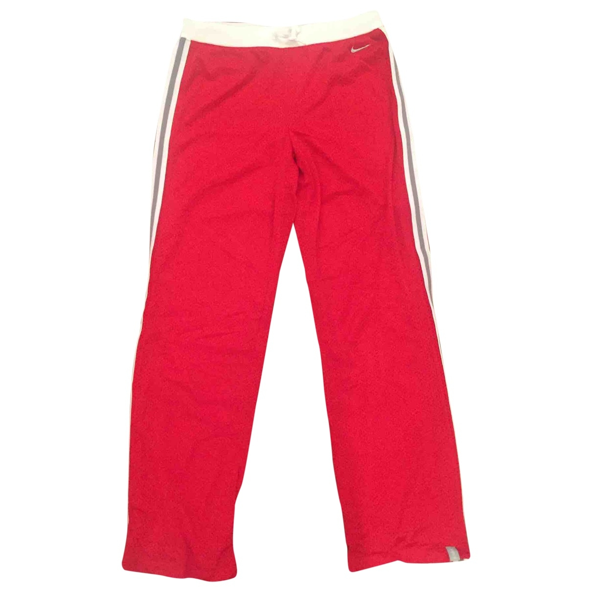 Nike \N Red Trousers for Women M International