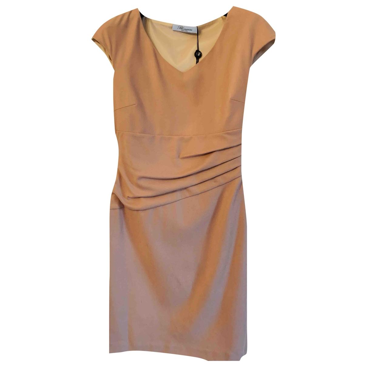 Blumarine \N Kleid in  Kamel Wolle