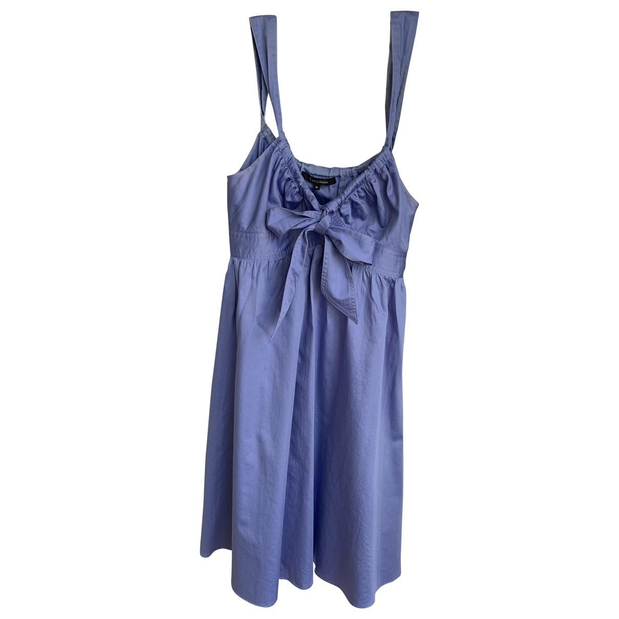 Tara Jarmon - Robe   pour femme en coton - bleu