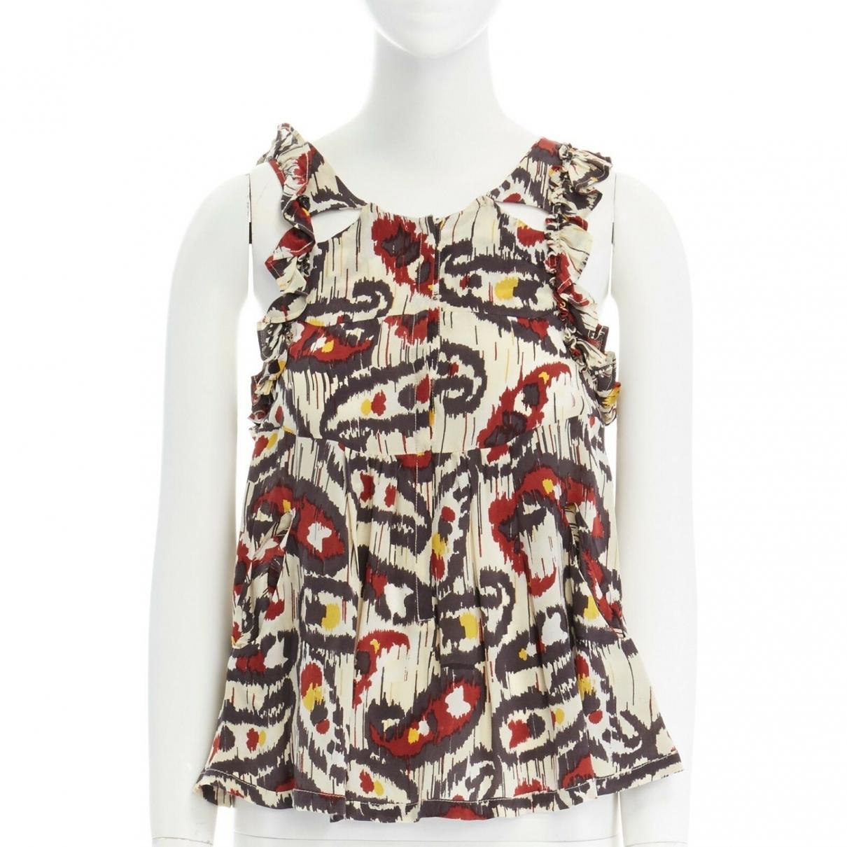 Isabel Marant \N Multicolour Silk  top for Women 34 FR