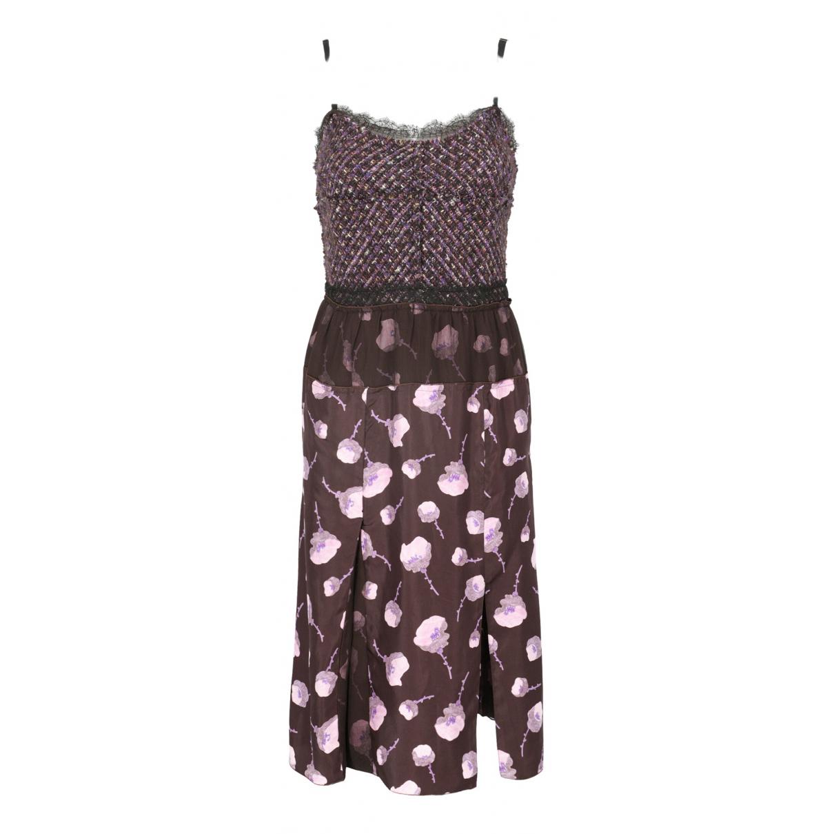 Vestido de Seda Nina Ricci