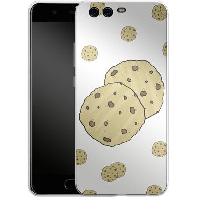 Huawei P10 Silikon Handyhuelle - Cookies von caseable Designs