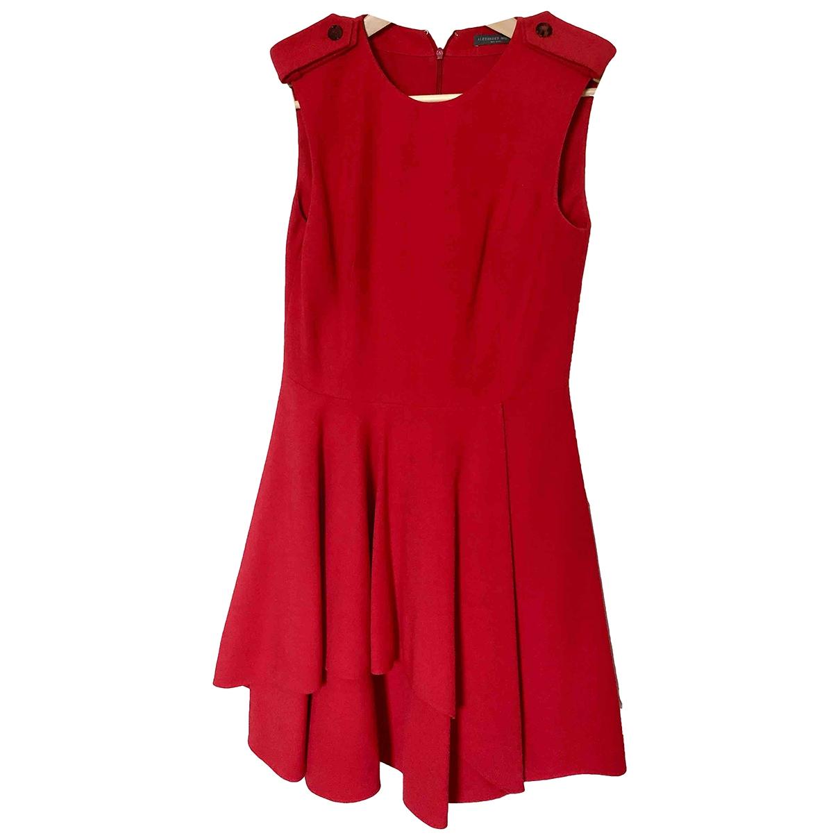 Alexander Mcqueen - Robe   pour femme - rouge