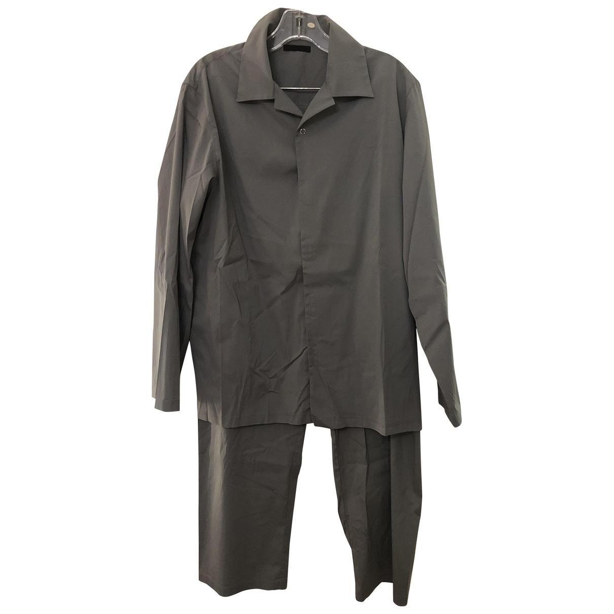 Prada \N Grey Cotton - elasthane Textiles for Life & Living \N