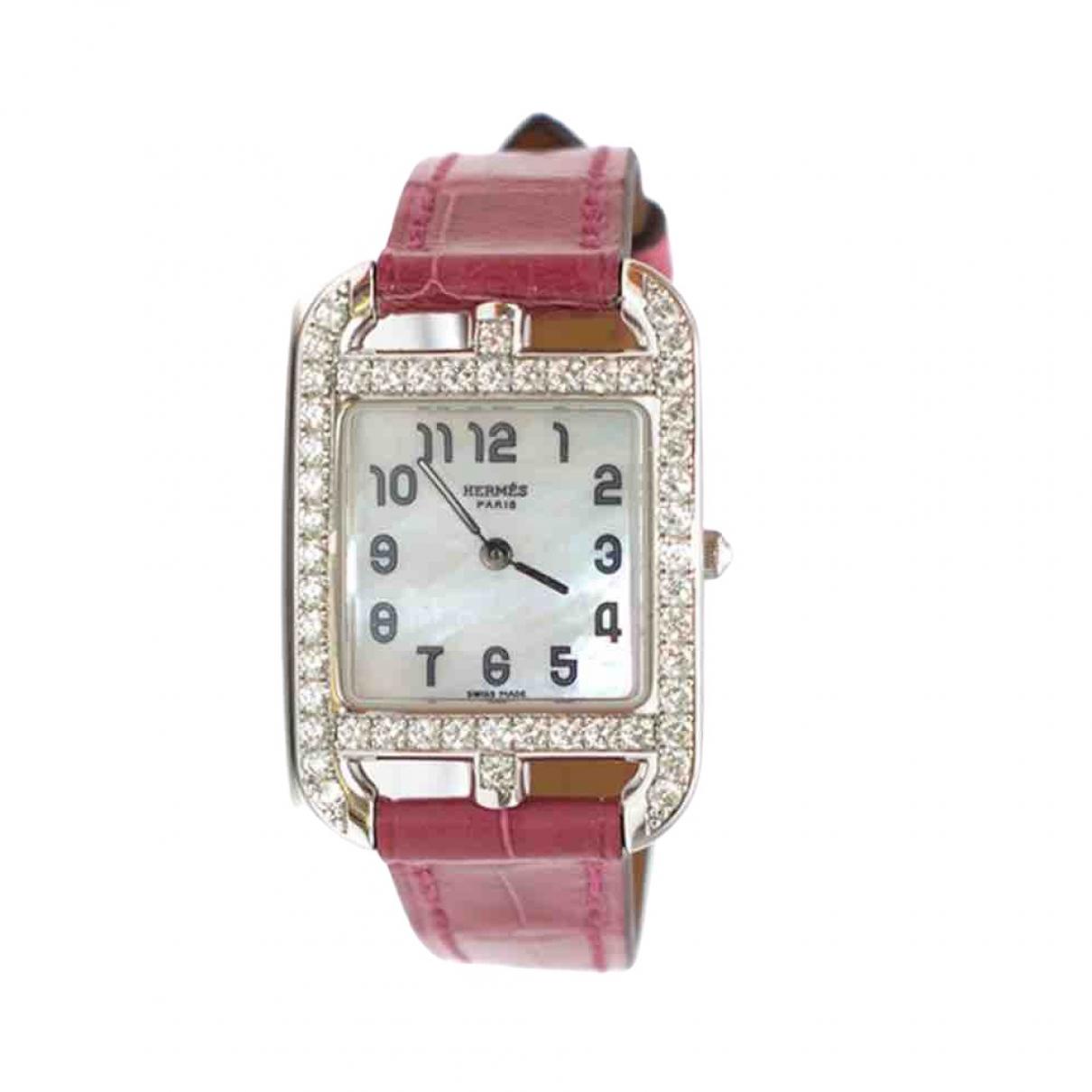 Reloj Cape Cod Diamants de Oro blanco Hermes