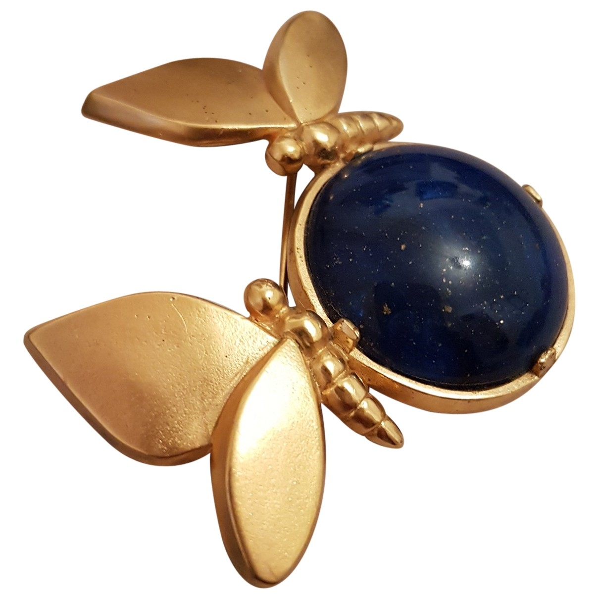 Lanvin \N Gold Gold plated Pins & brooches for Women \N