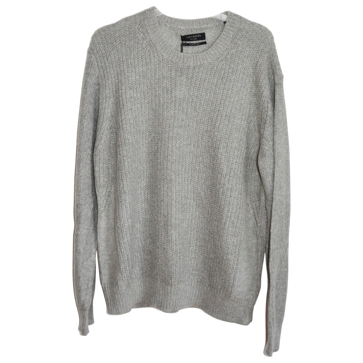 All Saints \N Grey Knitwear & Sweatshirts for Men XXL International