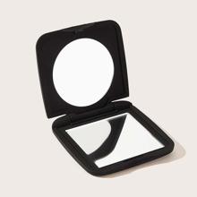 Einfarbiger tragbarer Spiegel