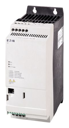 Eaton Variable Speed Starter, 3-Phase In, 300Hz Out 2.2 kW, 400 V ac, 5 A PowerXL DE1