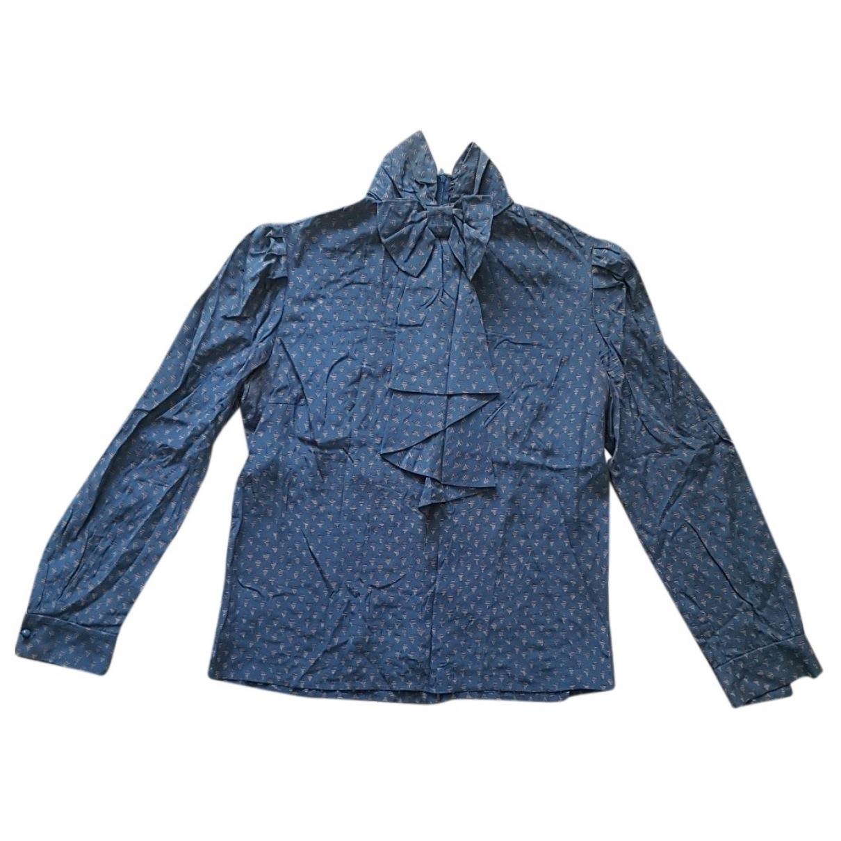 Nina Ricci \N Turquoise Silk  top for Women 42 FR