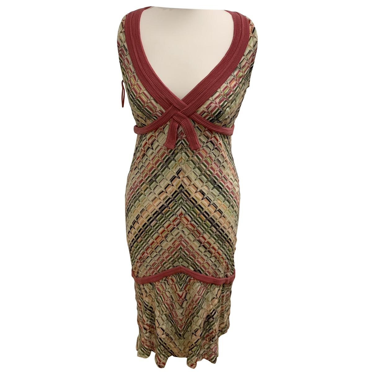 Missoni N Multicolour Wool dress for Women 42 FR
