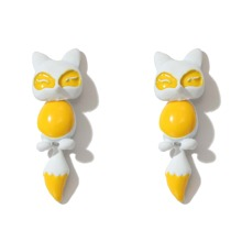 Cartoon Fox Drop Earrings