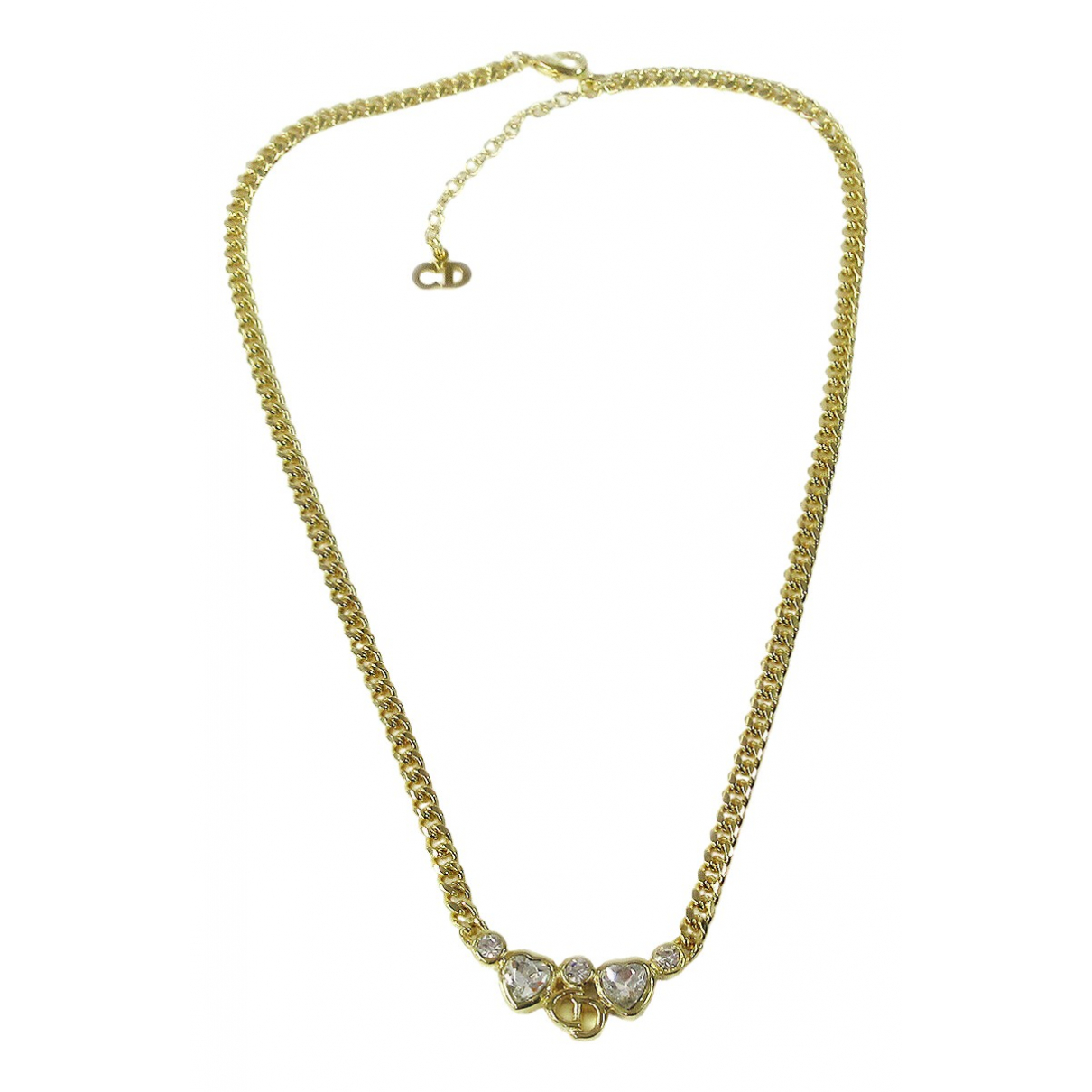 Dior \N Metal necklace for Women \N