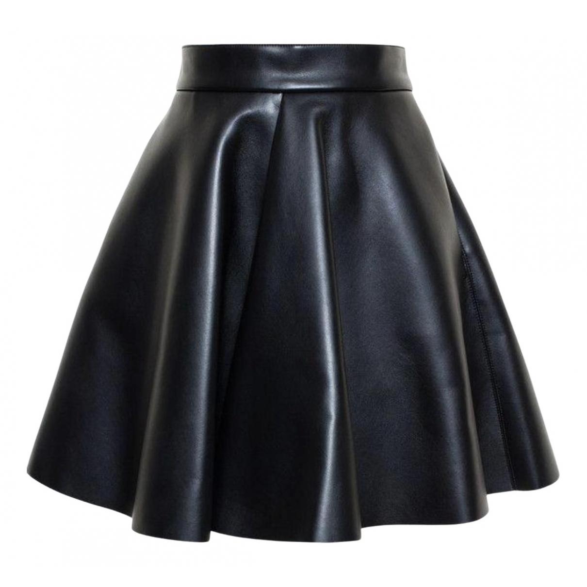 Falda de Cuero Msgm